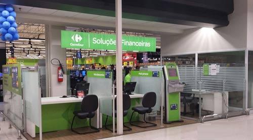 Estande Carrefour soluções financeiras