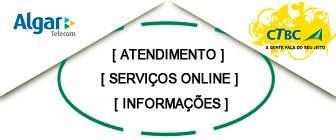 CTBC Algar Telecom informações e 2 via do boleto